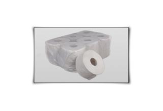 Тоалетна хартия МИНИ ДЖЪМБО - рециклирано КОД: 33001
