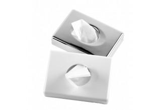 Дозатори за санитарни торбички - бял-инокс