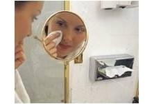 Иноксов дозатор за козметични кърпи КОД: 7820