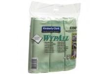 WYPALL* Микрофибърни кърпи зелени КОД: 8396
