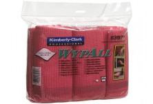 WYPALL* Микрофибърни кърпи червени КОД: 8397